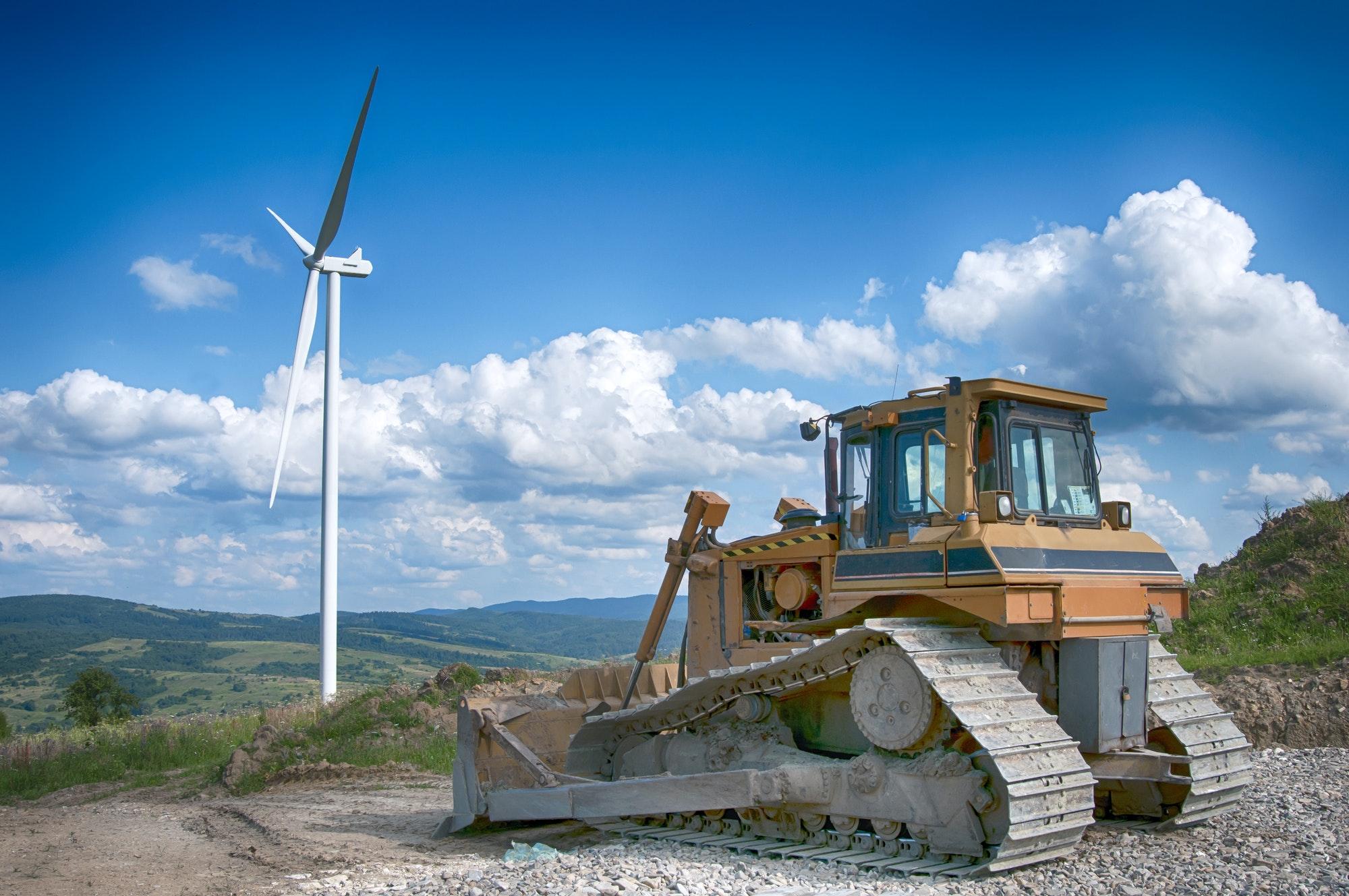 Ventajas de las grúas estructurales en la industria eólica