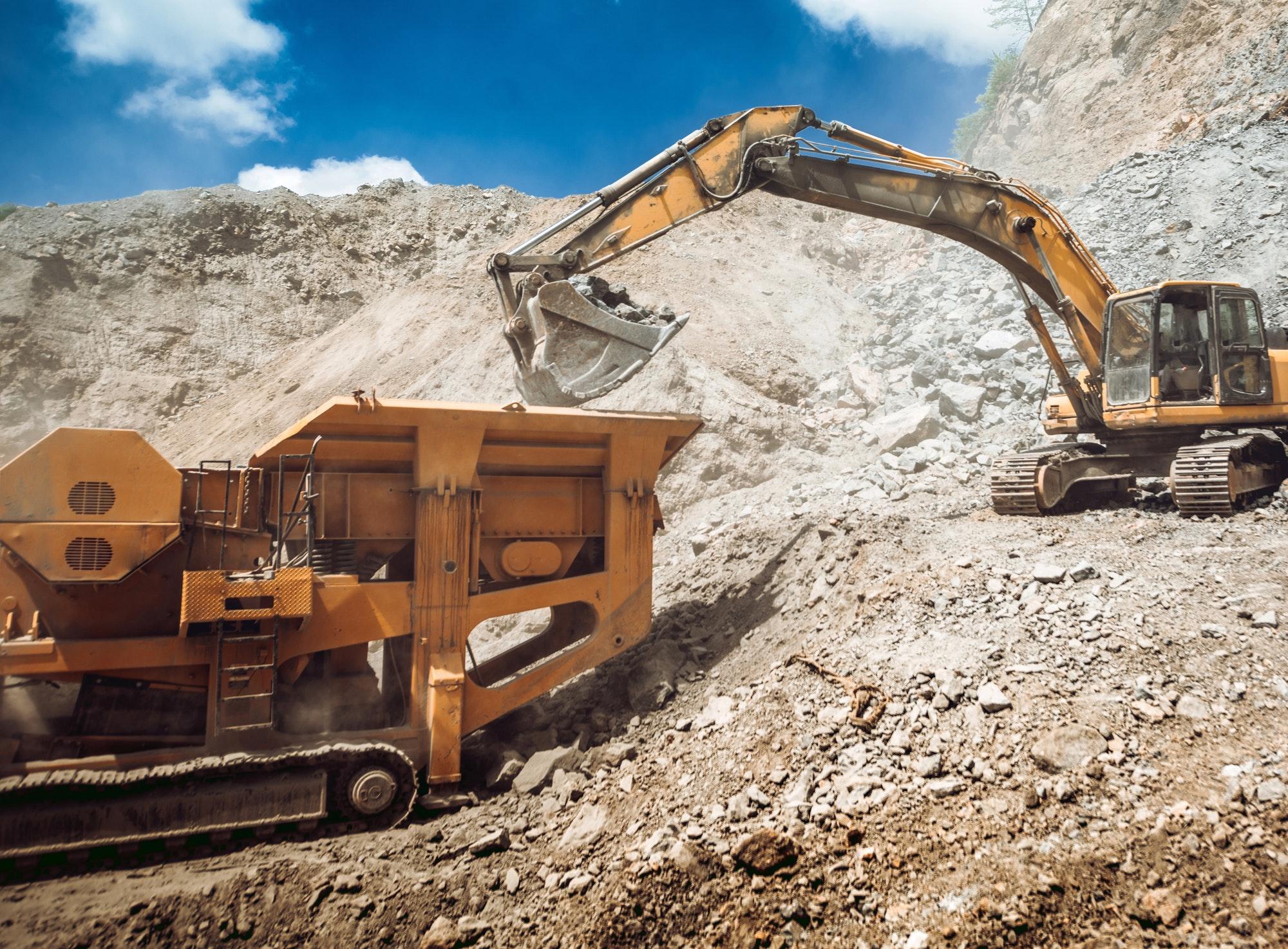 El sector minero y la importancia de las grúas